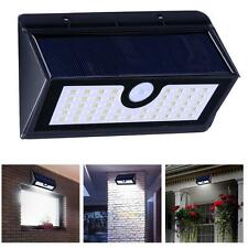 45 LED Solar Powered Stairs Fence Garden Security Lamp Outdoor Waterproof Light