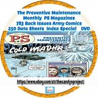 PS Preventive Maintenance Monthly 783 Back Issues Comic (First of 2 sets) 3 Dvds