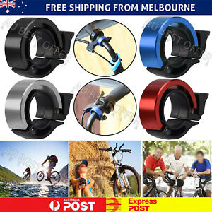 Bicycle Bell Aluminum Alloy Bike Bell Handlebar Alarm Ring Invisible Bell AU