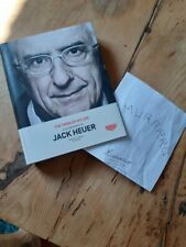 THE TIMES OF MY LIFE JACK HEUER SIGNED AUTOGRAPHE TAG HEUER montre book livre