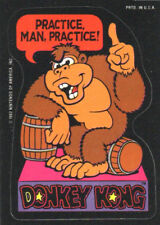 PRACTICE MAN! Donkey Kong / Super Mario - Sticker - Nintendo 1982 / Game & Watch