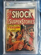 Shock Suspenstories #10 PGX 2.5 Classic E.C. Comics 1953 Pre-Code Horror not CGC