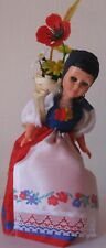 Doll in Swiss (Lugano) national costume. 1990 Free shipping.