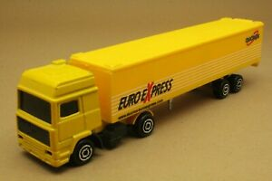 "Camion VOLVO semi-container ""DUCROS"" - MAJORETTE - Made in Thaïlande - éch 1:100"