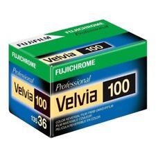 Fuji Fujichrome Velvia 100 RVP 36 35mm Pro Color Transparency Film