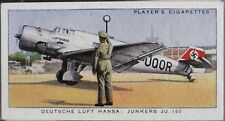 No.21 LUFT HANSA JUNKERS JU160 International Air Liners Player 1936