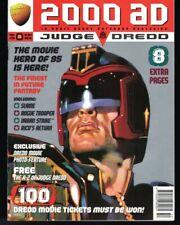 2000 AD Prog 950-962 Hi Grade 13 Issues 17 Full Stories-Dredd Sp/Chris Foss Cvrs