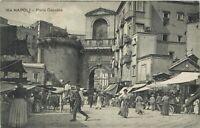 NAPOLI - Porta Capuana - ANIMATISSIMA - VIAGGIATA NEL 1917 - rif. 1039