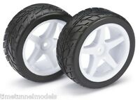 Absima 2500007 4WD Buggy Wheels Front with Tyres (2) (Suit Tamiya 4WD RC Car)