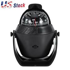 NEW LED Light Electronic Vehicle Car Navigation Sea Marine Boat Ship Compass USA