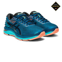 Asics Womens Gel-Cumulus 21 GORE-TEX Running Shoes Trainers Sneakers - Blue