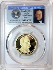 2012-S  (2nd) Grover Clevland 24th President  Presidential Dollar PCGS PR69DCAM