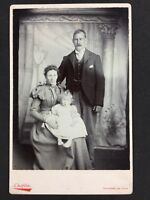 Victorian Cabinet Card Photo: Family: Chaplin: Stratford-on-Avon