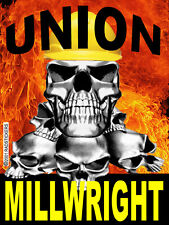 MILLWRIGHT, UNION STICKER, CMW-11