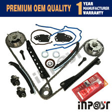 Timing Chain Kit Cam Phaser For Ford F150 F250 Lincoln 5.4L 3V Timing cover Seal