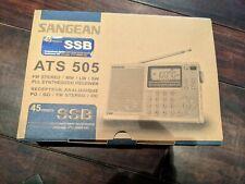 Sangean ATS 505 Weltempfänger
