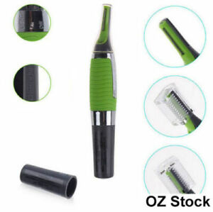 Hair Trimmer Groomer Nose Ear Eyebrows Neck hair Razor with light micro touch