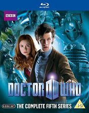 Doctor Who The New Series Complete Season 5 Blu Ray Sci-Fi TV Series Region B