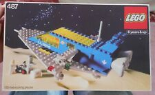LEGO Vintage 487 Space Command Center Complete with Box + Instructions
