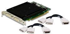 NEUF NVIDIA QUADRO NVS 440 PCI-E x 16 256MB GDDR3