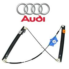 Audi A4 Quattro RS4 S4 Front Driver Left Window Regulator Genuine 8E0 837 461 C