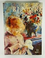 Renoir Book by Denis Rouart and Rizzoli 1985 Hardcover 1990 Art Paintings