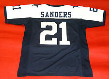 DEION SANDERS CUSTOM DALLAS COWBOYS TD B JERSEY