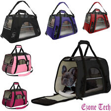 Pet Dog Cat Carrier Travel Bag Comfort Case Soft Sided Backpack Airline Approved