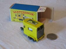 Lesney Matchbox 43 Pony Trailer Green Base with Box