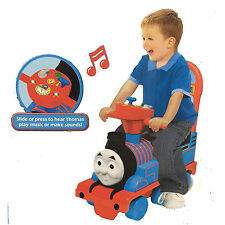 New Thomas The Tank Engine Train Ride On Walker Cart Car Baby Toddler Toy Fun