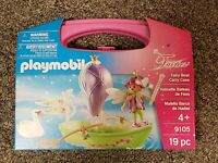 Playmobil Fairies Fairy Boat Pink Carry Case Building Set 9105 NEW Education
