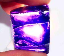 378.90Ct Certified Natural Cambodian Violet Zircon Rough Fabulous Gemstone BW285