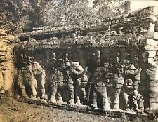 Temple Banteay Srei Angkor Vat Cambodge photographie originale C 1950 presse 15