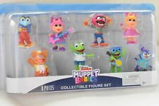 Disney Junior MUPPET BABIES Collectible 8 Pc Figure Set *NEW* Animal Gonzo