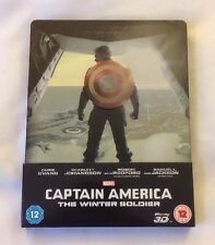 CAPTAIN AMERICA 2 - THE WINTER SOLDIER - LIMITED EDITION STEELBOOK RARE