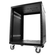"""Royal Racks 12U A/V Audio Video Equipment Rack with 3"""" Caster Wheels Cart AV New"""