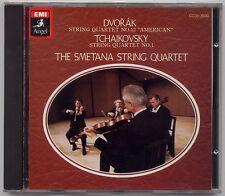 Dvorak: String Quartet No 12; Tchaikovsky - Smetana Quartet EMI JAPAN CD