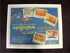 ALAKAZAM THE GREAT (THE MONKEY KING) ONE SHEET 61/234 FRANKIE AVALON
