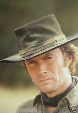 "CLINT EASTWOOD ""MAN WITH NO NAME"" GERMAN COMMERCIAL POSTER-Spaghetti Western Era"