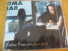 GATTO PANCERI DOVE DOV'è CD SINGOLO SIGILLATO LUCIO BATTISTI
