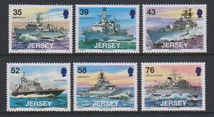 Jersey - 2008, Visiting Navy Ships, 2nd series set - MNH - SG 1380/5