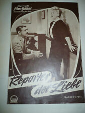TEACHER'S PET orig German Film program [Clark Gable, Doris Day, Mamie Van Doren]
