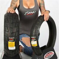 120/60 17, 180/55 17 Shinko 009 Raven Radial Tire Kit
