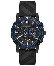 Burberry de la Ciudad Suizo Unisex Hombre Mujer 42mm Redondo Acero Reloj BU9806