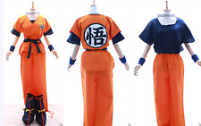 S-02 Dragonball Z son Goku Go chándal cosplay 6-piezas costume Orange