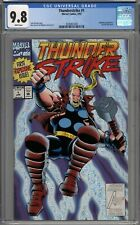 Thunderstrike #1 CGC 9.8 NM/MT Bloodaxe Appearance New Thor Movie WHITE PAGES
