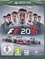 F1 2016 / F1 16 - Formula One /  Formel 1  - XBOX ONE Neu & OVP