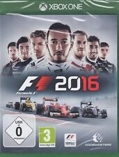 F1 2016 / F1 16 - Fórmula Uno / Fórmula 1 - XBOX One nuevo y emb. orig.