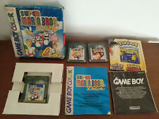 NINTENDO GAMEBOY COLOR SUPER MARIO BROS DELUXE PAL ITALIANO LOTTO LEGGI TUTTO