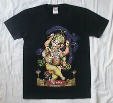 Dancing Ganesh medium black t-shirt